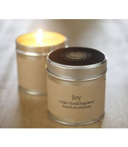 Joy Scented Tin Candle