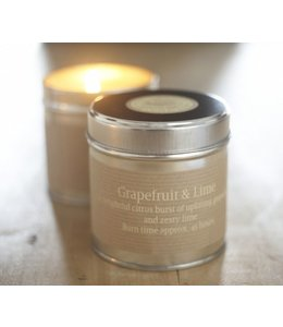 Grapefruit & Lime Scented Candle Tin
