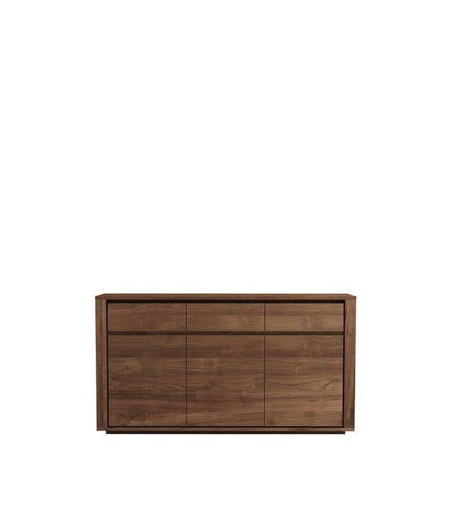 Teak Elemental sideboard - 3 doors / 3 drawers - FSC 100% - New