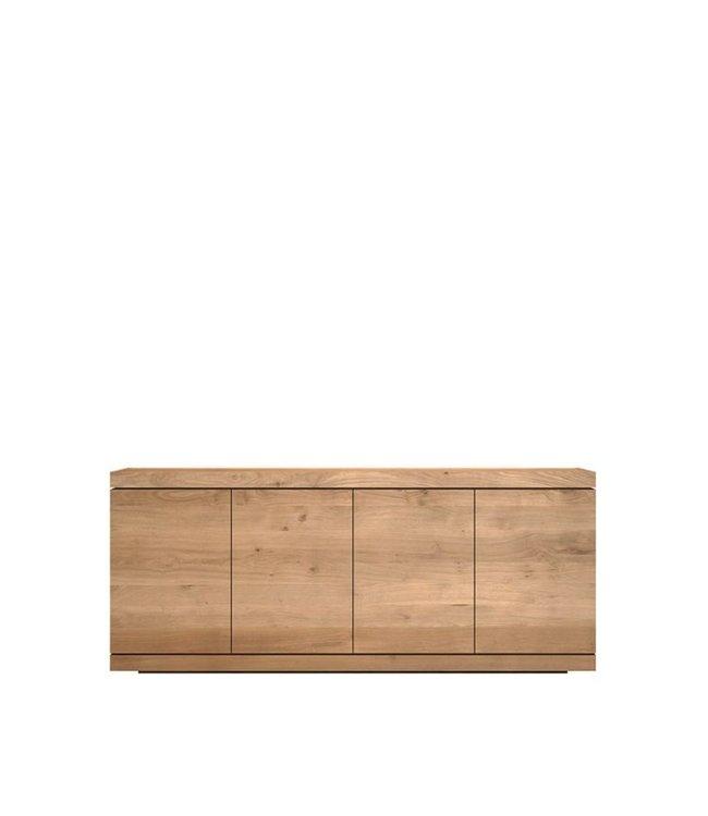 Oak Burger sideboard - 4 opening doors