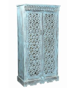 Blue Jali Almirah