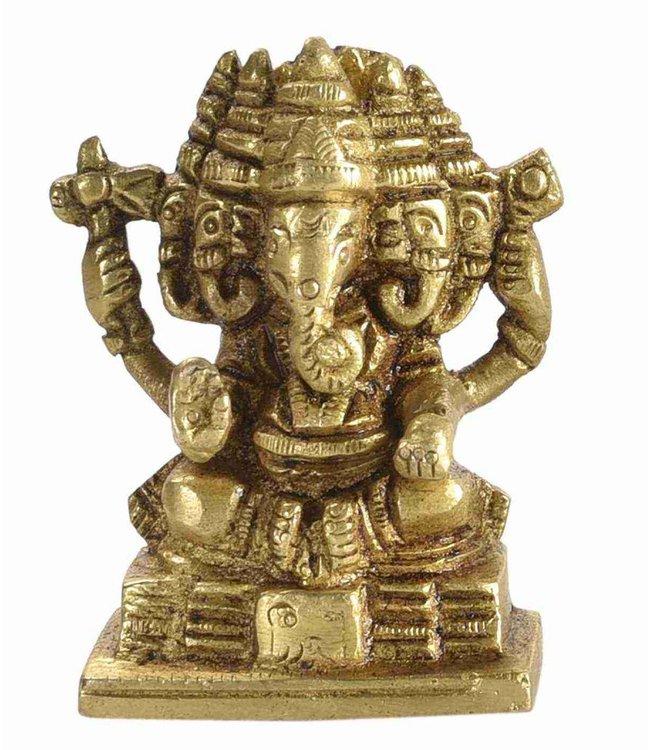 Small Brass Ganesh