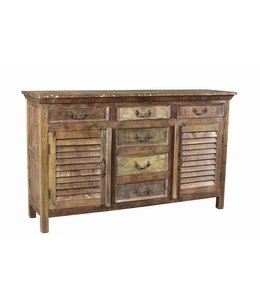 Reclaimed Side Board with 6 Drawers and 2 Doors