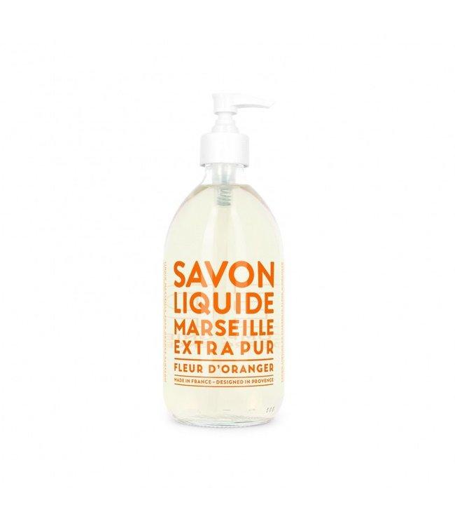 Orange Blossom Liquid Marseille Soap 500ml