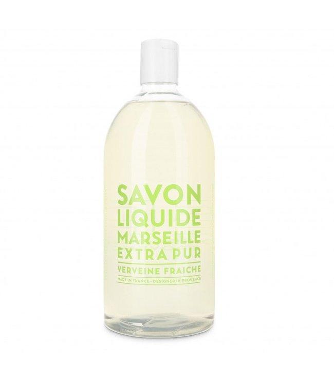 Fresh Verbena Liquid Marseille Soap Refill 1L
