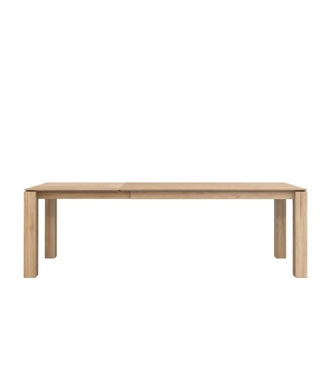 Oak Slice Extendable Dining Table<br /> Oak Slice Extendable Dining Table