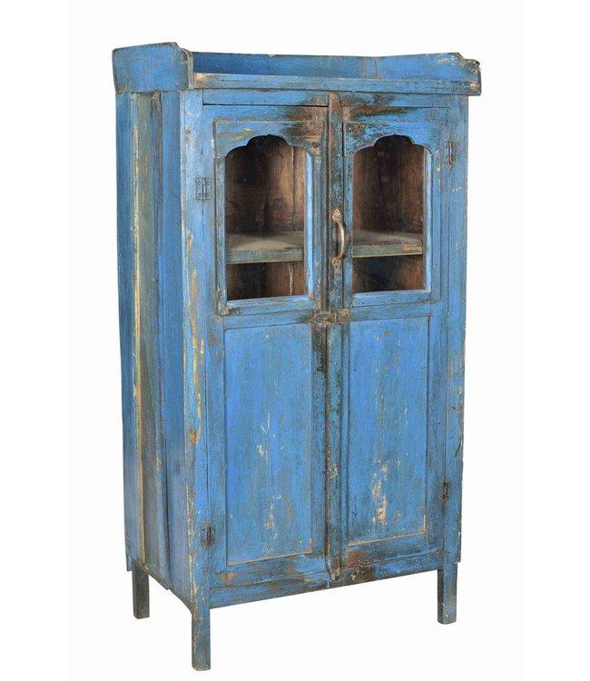 Blue Glazed Cupboard