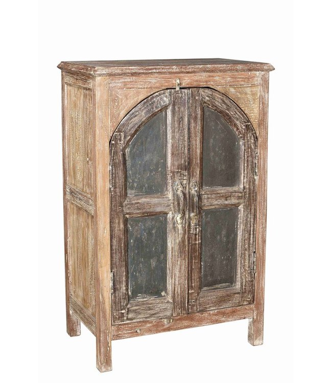 Small cabinet with original doors