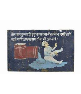 Warning Indian Sign