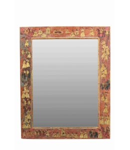 Painted Frame with Mirror