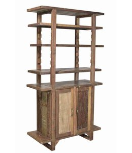 Shelf Rack with Cupboard