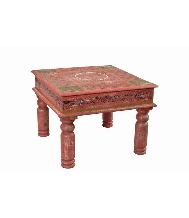 Painted Square Coffee Table