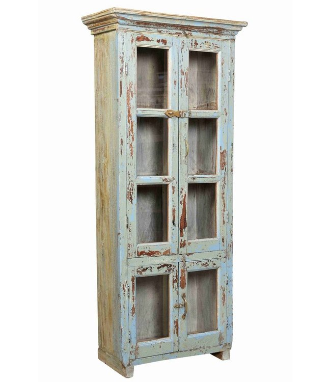 Tall Glazed Cabinet