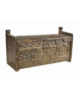 Carved Tribal Chest