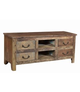 Reclaimed Teak TV Unit