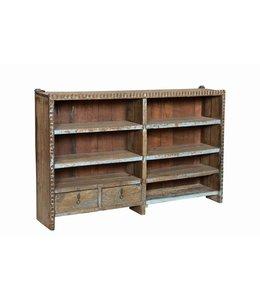 Old Teak Shelf Rack