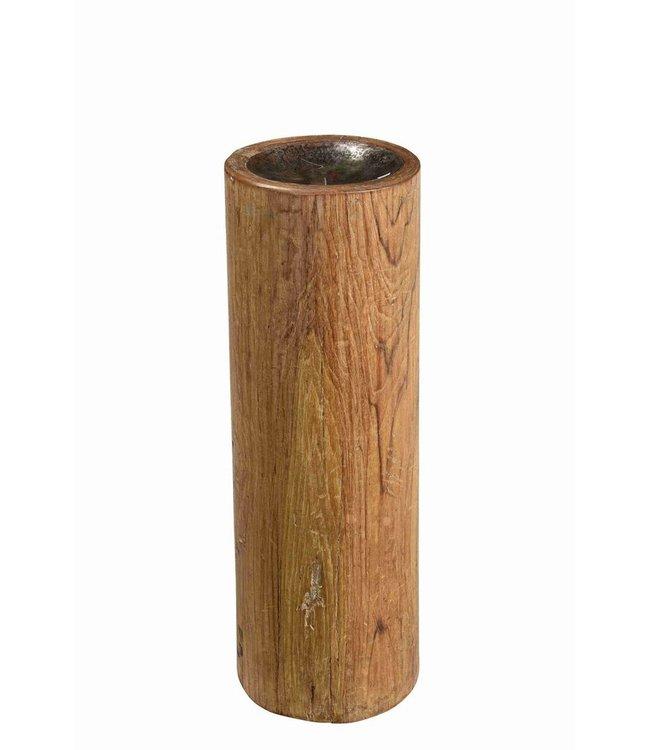 Antique Pillar Candlestand