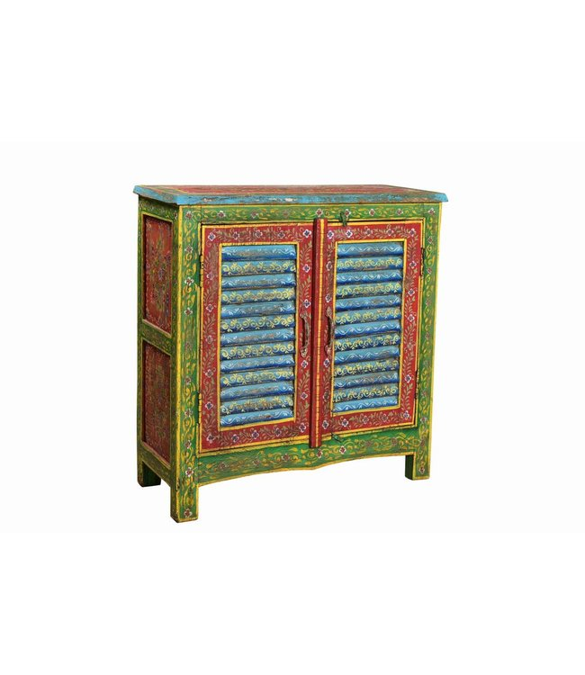 Hand Painted Louvre Sideboard