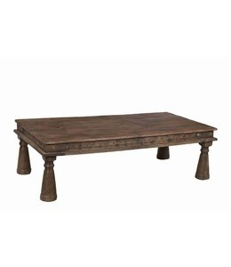 Hand Carved LongCoffee table