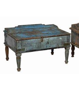 Blue Painted Desk