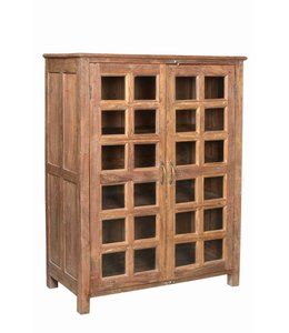 Twin Glass Door Cabinet