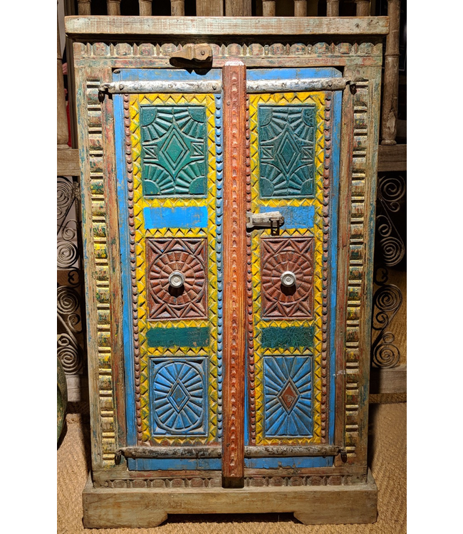 Hand Painted Cupboard