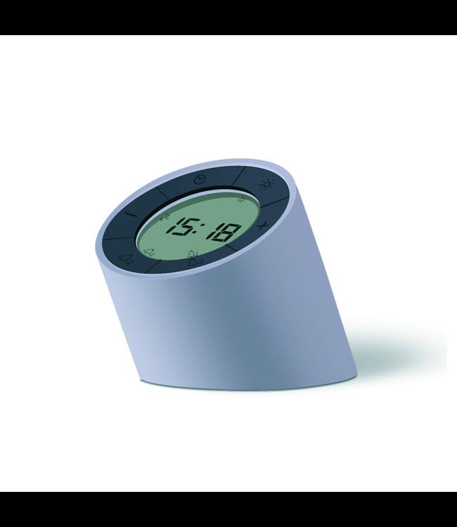 The Edge Light Alarm Clock - Grey