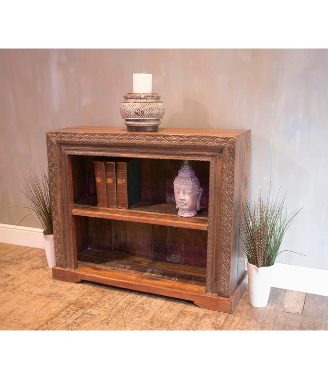 Carved Book Shelf