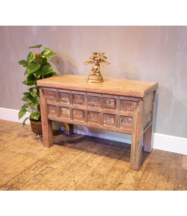 Reclaimed Teak Chest