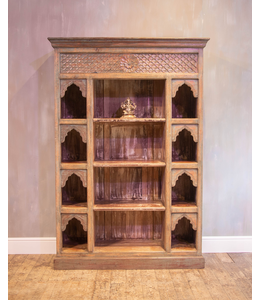 Beautiful Carved Bookcase
