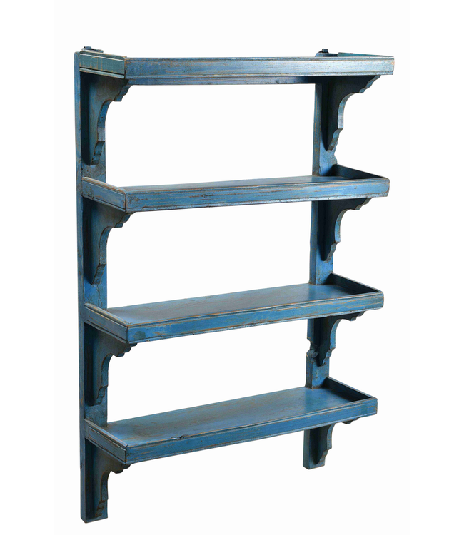 Painted Wall Shelves