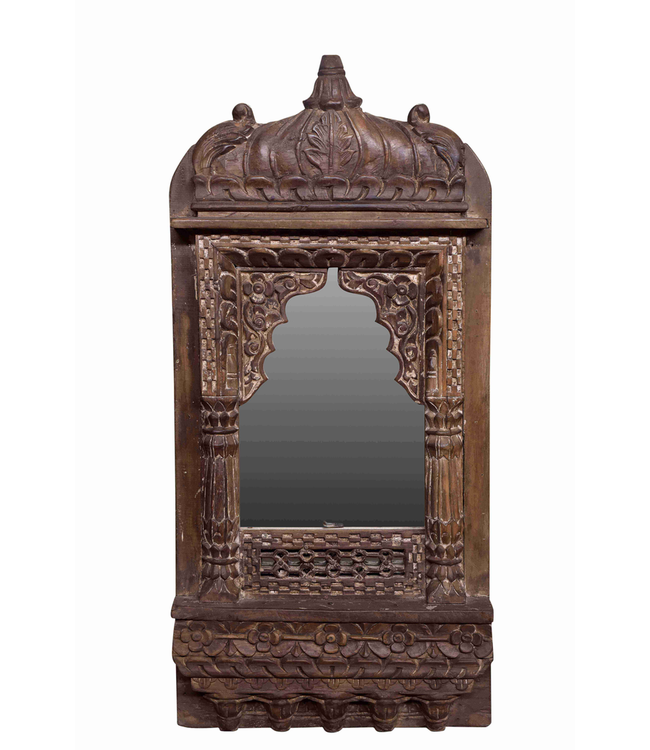 Mughal Carved Mirror