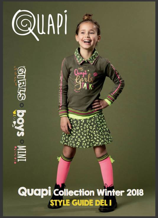 Quapi collection winter 2018 Del 1 Girls