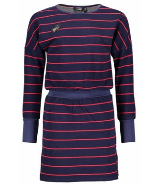 NoBell Moisa striped midi dress