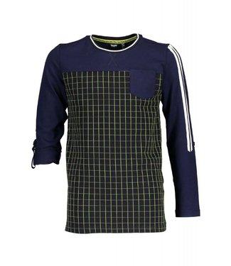 Bellair Kees ls t-shirt check jersey
