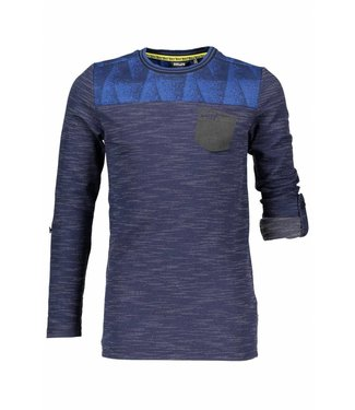 Bellair Kevis ls t-shirt jacquard knit