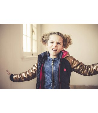 B.Nosy girls jacket quilted body