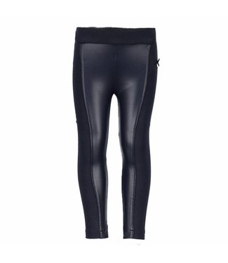 LeChic legging fake leather panels