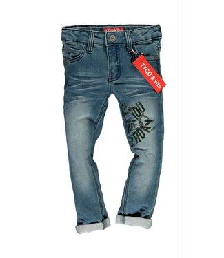 TYGO & Vito JOG jeans skinny keyhanger&print