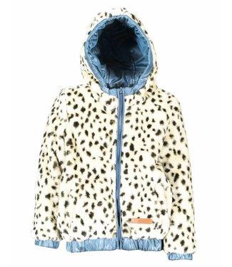moodstreet Reversible hooded coat girls
