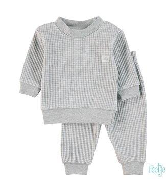 Feetje Pyjama - Grey melange