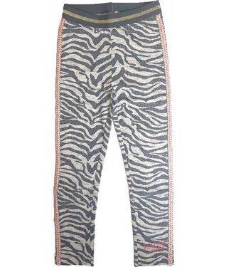 Quapi Legging - Grey zebra
