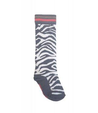 Quapi Sokken - Grey Zebra