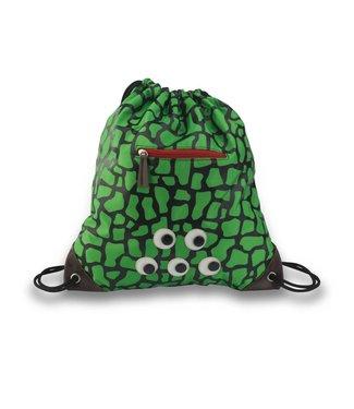 ZEBRA TRENDS Luxe zwemtas met rits - Turtle Green
