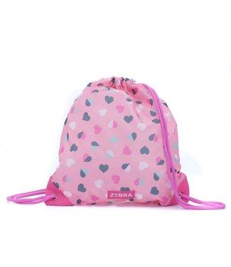 ZEBRA TRENDS Zwemtas Hearts Pink