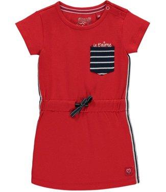 Quapi Dress _ Riva red rouge