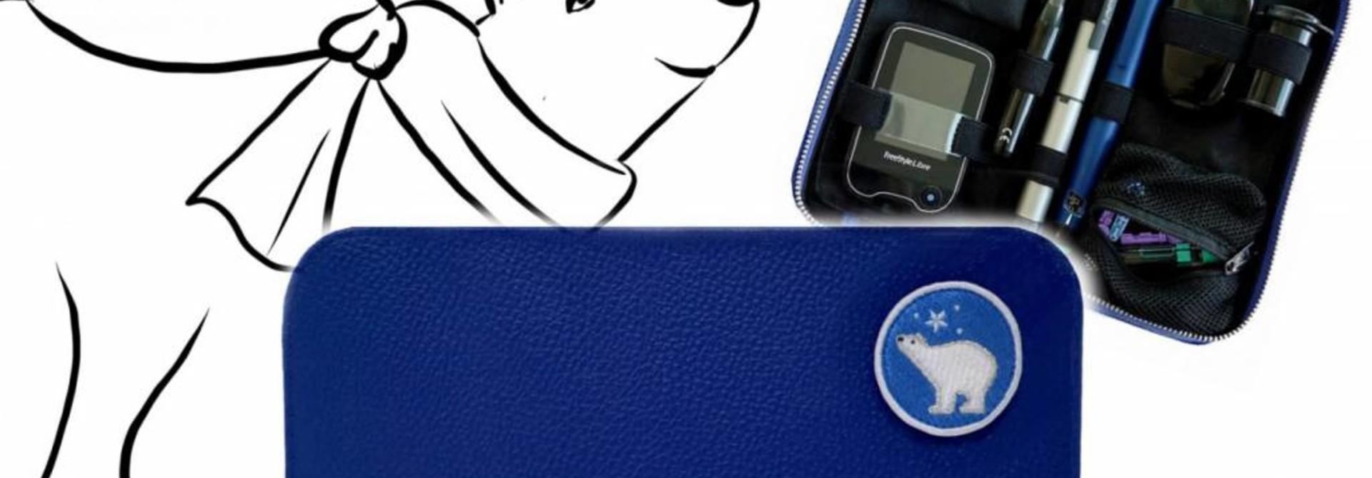 KIDS Case  - Icebear (inkl. Patch  & Gurt)