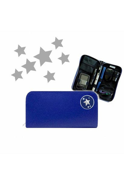 KIDS Case  - Blue STAR (Patch & Belt incl.)