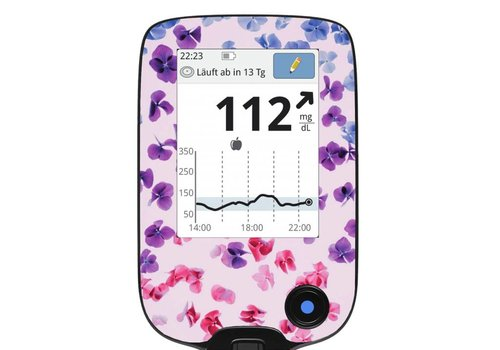 Hydrangea Screen Protector - FreeStyle Libre