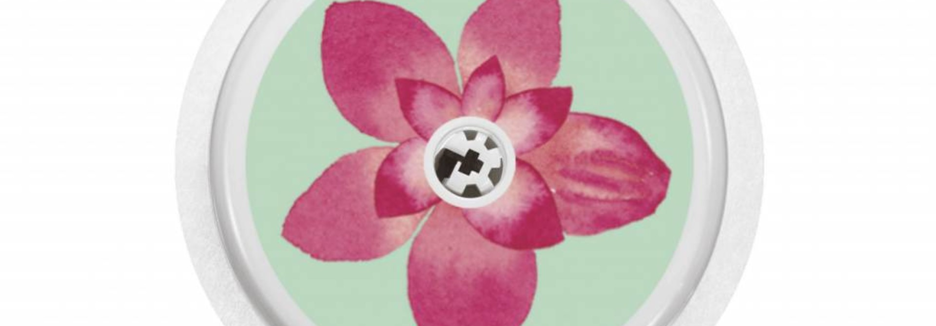 FLOWER Sensor Sticker - FreeStyle Libre